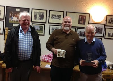 Winners of the Marian Lally  R.I.P. trophy John and Paddy with P.J. Lally.